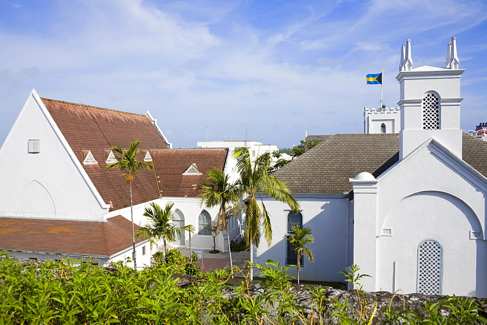 St. Andrew's Presbyterian Church, Nassau, New Providence Island, Bahamas, West Indies, Central America