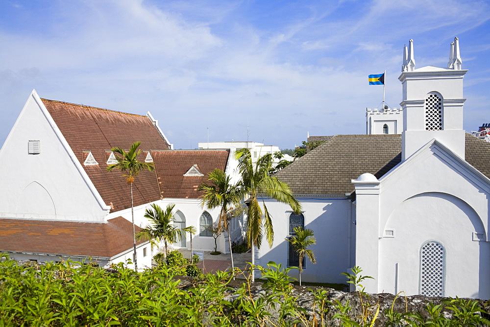 St. Andrew's Presbyterian Church, Nassau, New Providence Island, Bahamas, West Indies, Central America