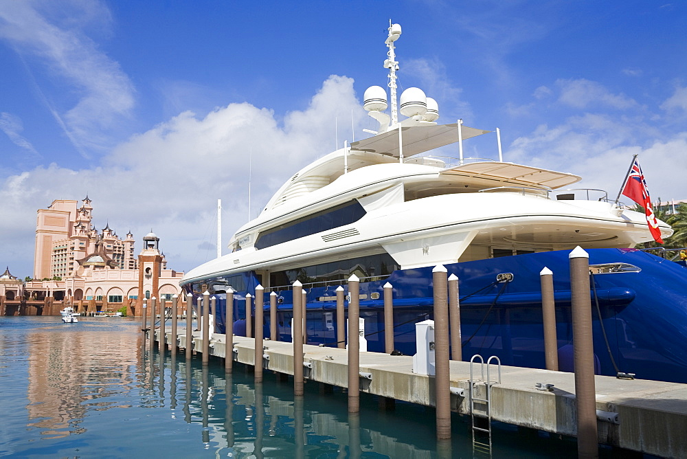Atlantis Marina on Paradise Island, Nassau City, New Providence Island, Bahamas, West Indies, Central America