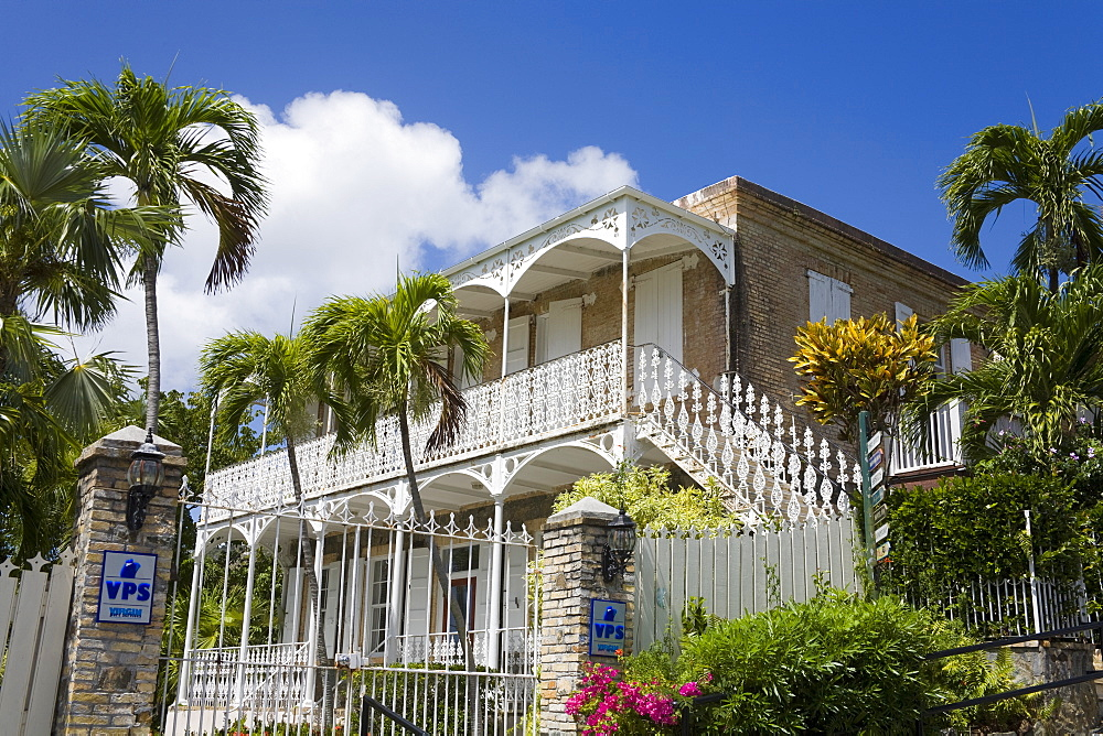Villa Notman in Kongens Quarter, Charlotte Amalie, St. Thomas Island, U.S. Virgin Islands, West Indies, Caribbean, Central America