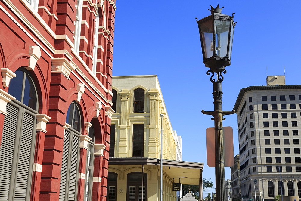 Kempner Street, Historic Strand District, Galveston, Texas, United States of America, North America