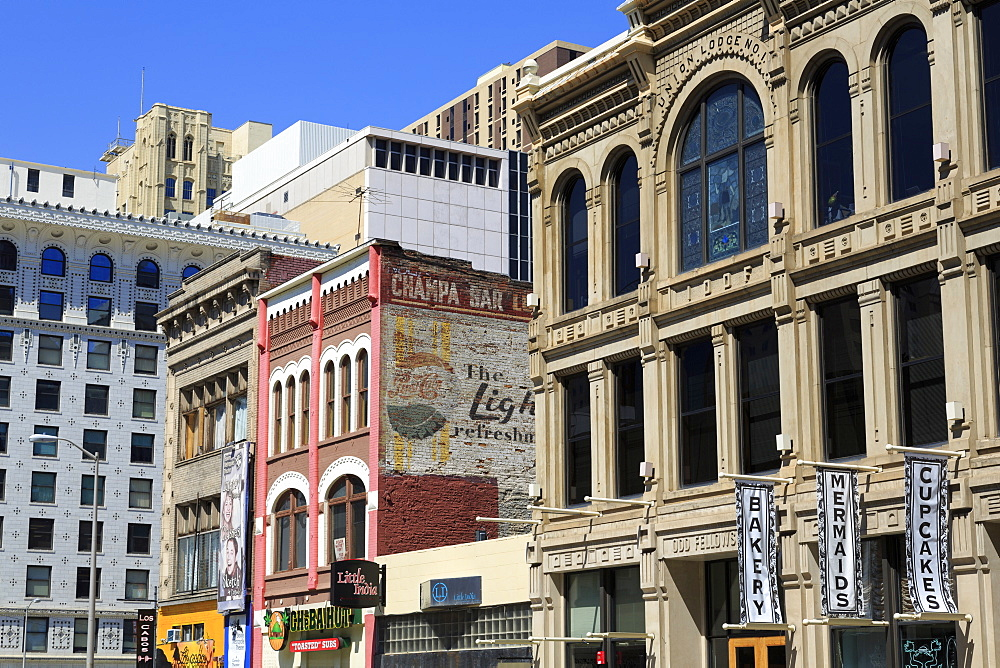 Champa Street, Denver, Colorado, United States of America, North America