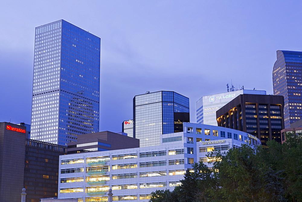 Skyline, Denver, Colorado, United States of America, North America