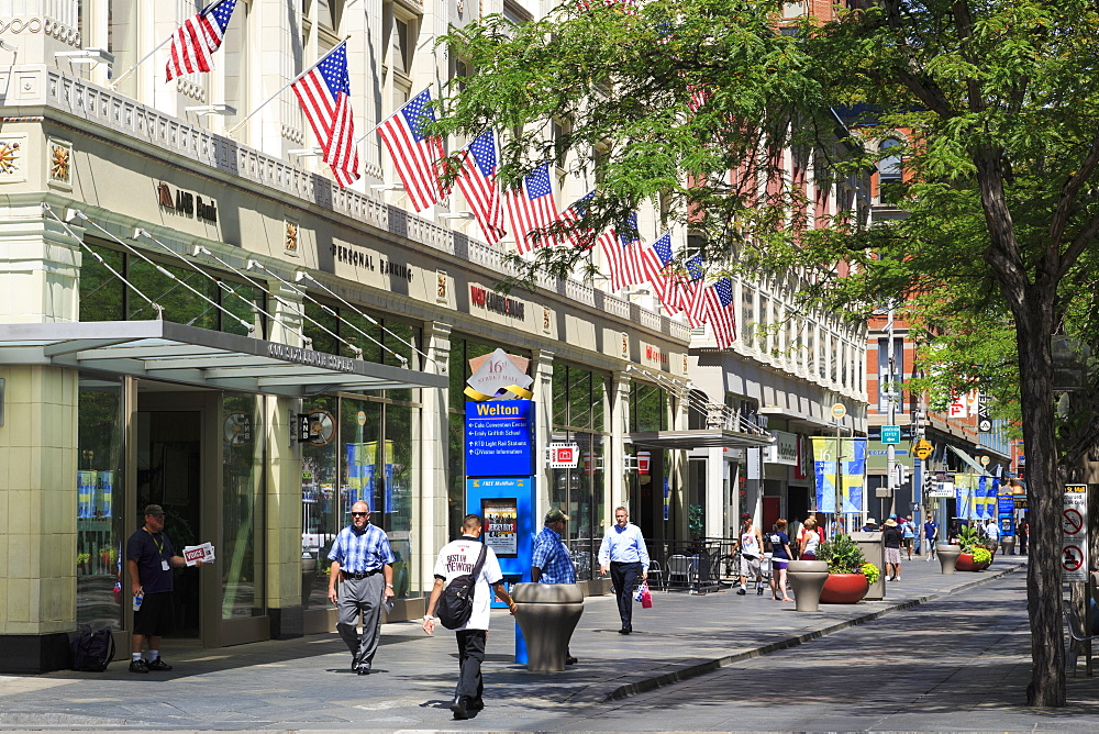 16th Street Mall, Denver, Colorado, United States of America, North America