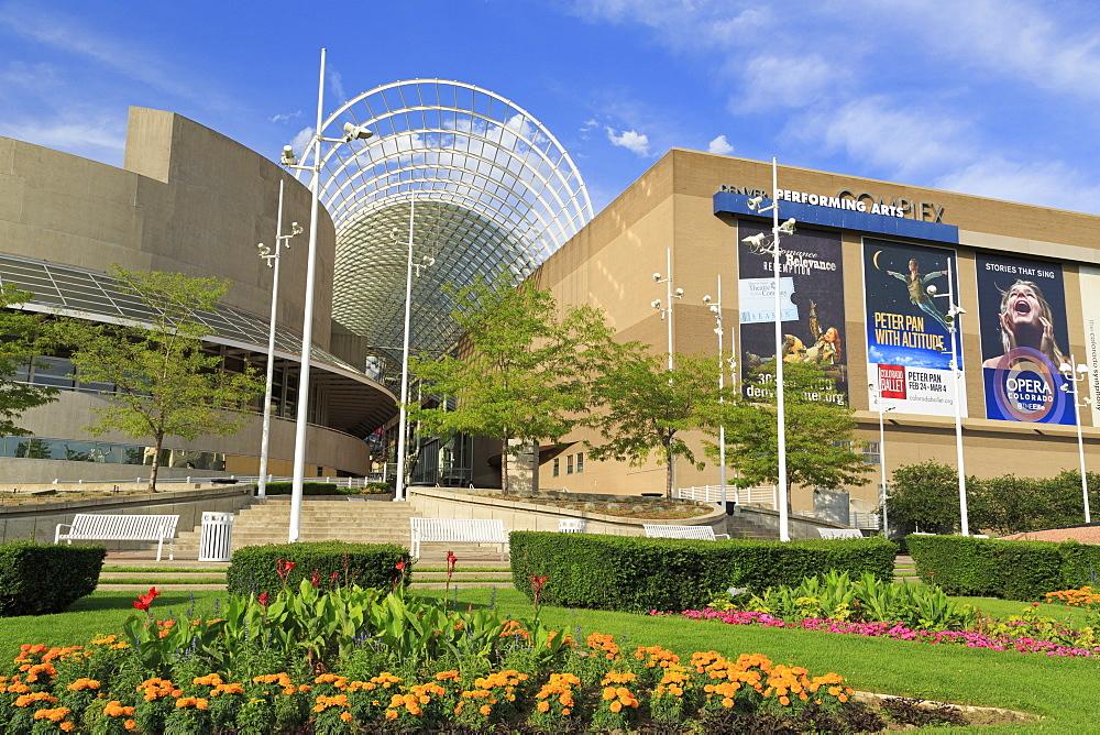Performing Arts Complex, Denver, Colorado, United States of America, North America