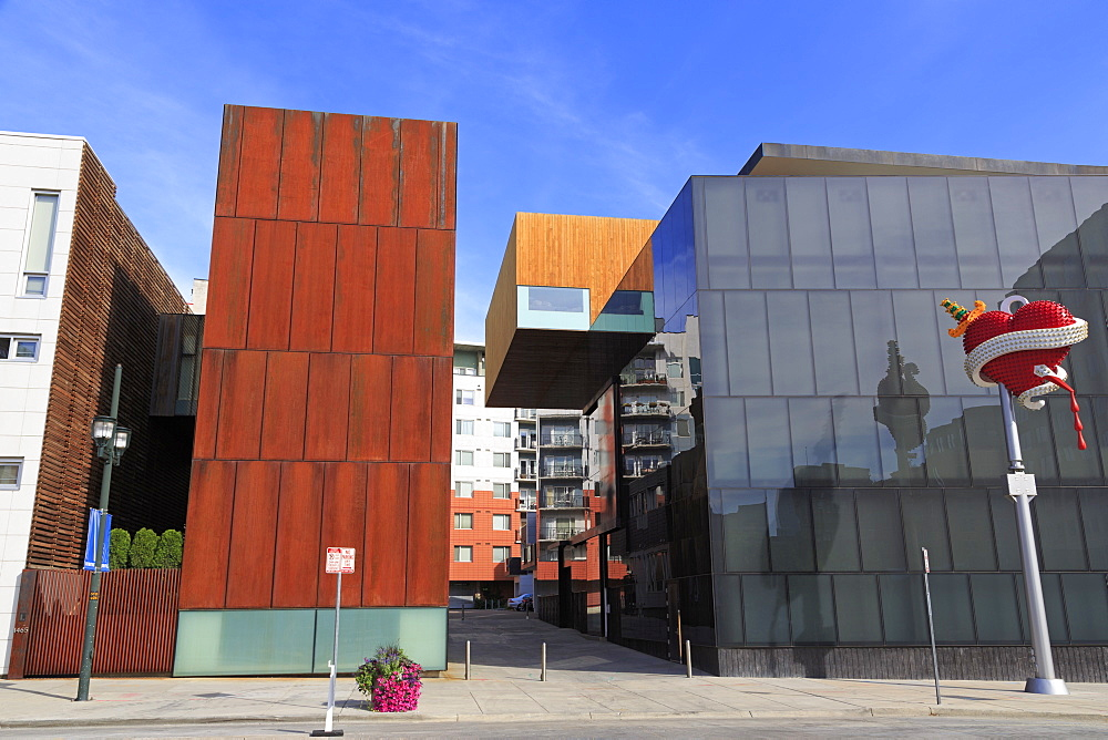 Museum of Contemporary Art, Lower Downtown, Denver, Colorado, United States of America, North America