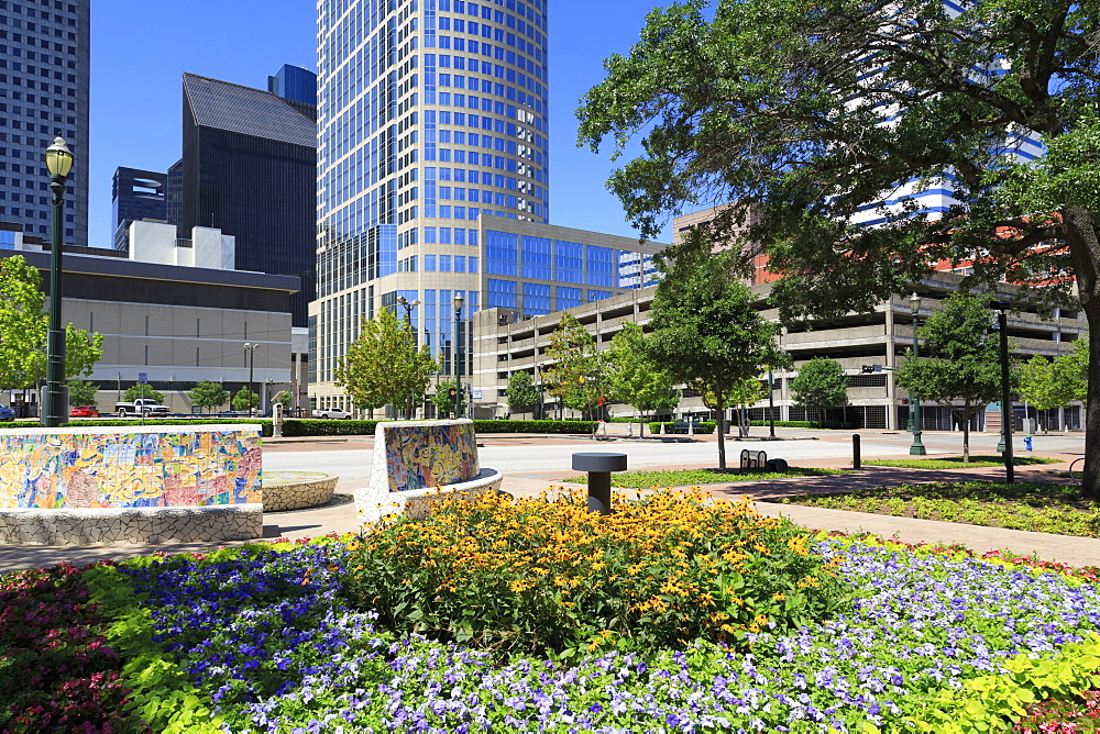 Market Square Park, Houston, Texas, United States of America, North America