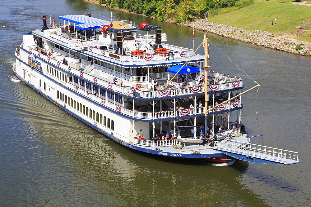 General Jackson Riverboat, Nashville, Tennessee, United States of America, North America