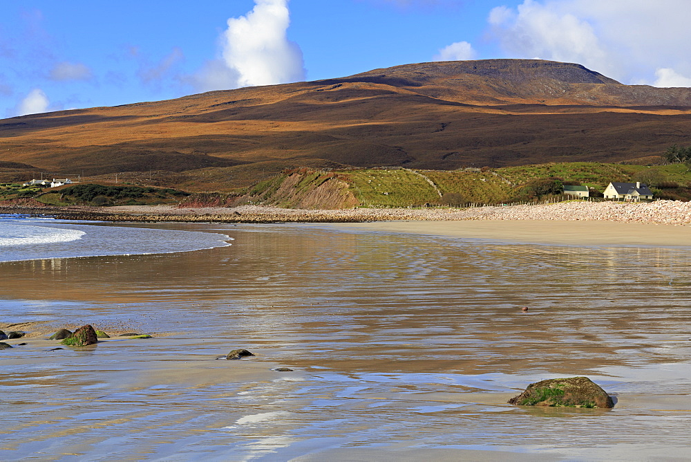 Mulranny Beach on Clew Bay, County Mayo, Connaught (Connacht), Republic of Ireland, Europe