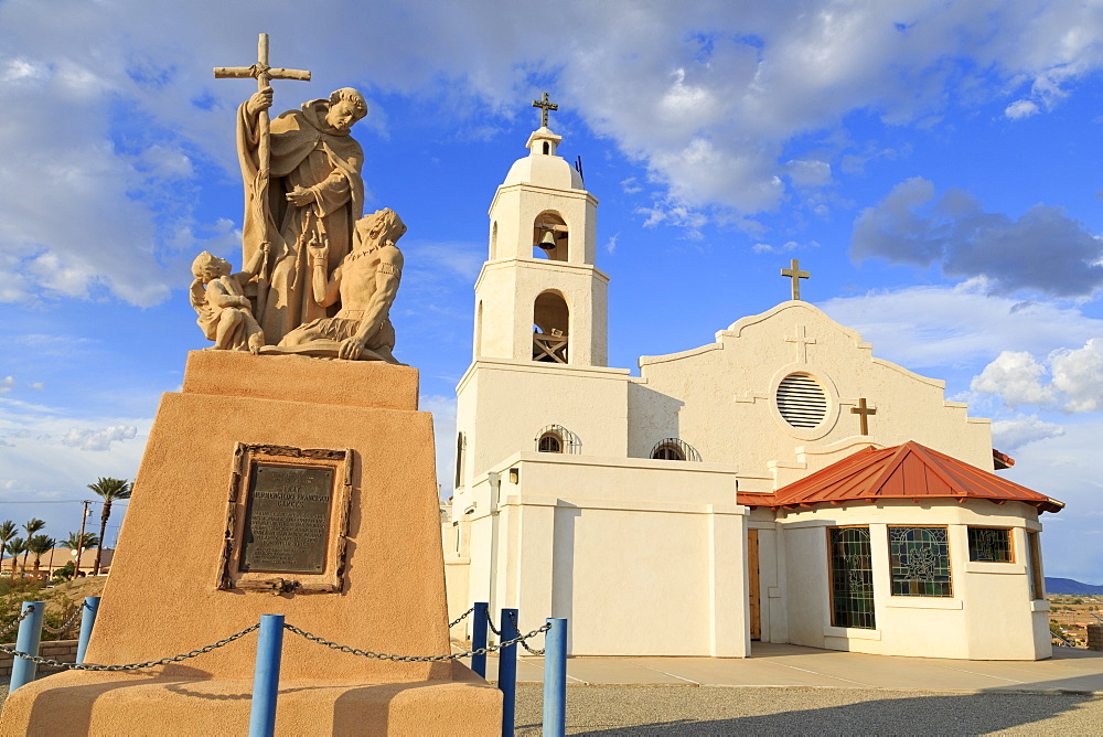 St. Thomas Church and Indian Mission, Yuma, Arizona, United States of America, North America