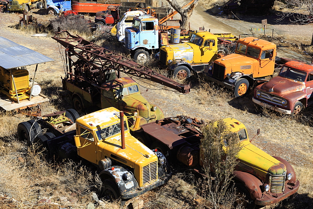 Gold King Mine and Ghost Town, Jerome, Arizona, United States of America, North America