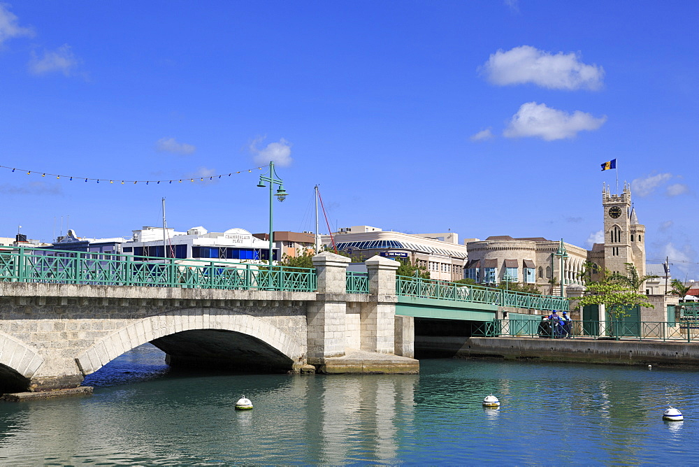 Chamberlain Bridge, Bridgetown, Barbados, West Indies, Caribbean, Central America