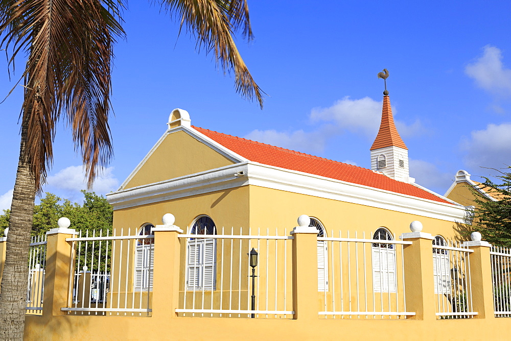 Protestant Church, Kralendijk, Bonaire, West Indies, Caribbean, Central America