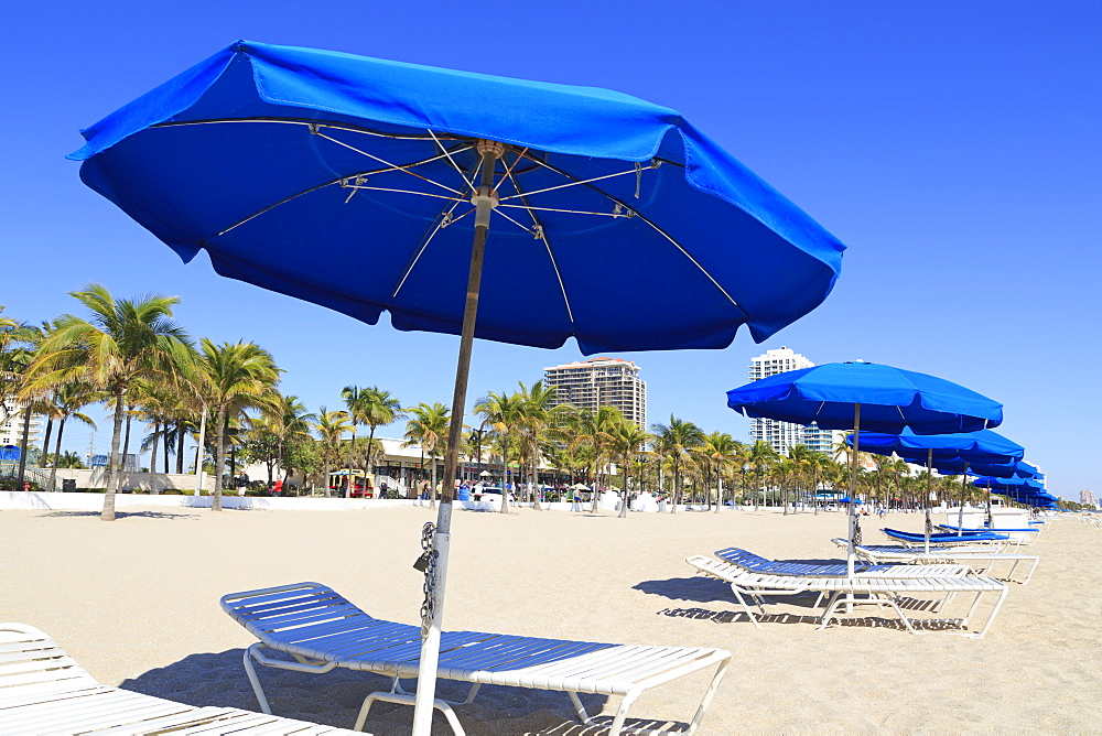 Beach on Ocean Boulevard, Fort Lauderdale, Florida, United States of America, North America
