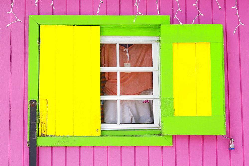 Beach Store in Cruz Bay, St. John, United States Virgin Islands, West Indies, Caribbean, Central America
