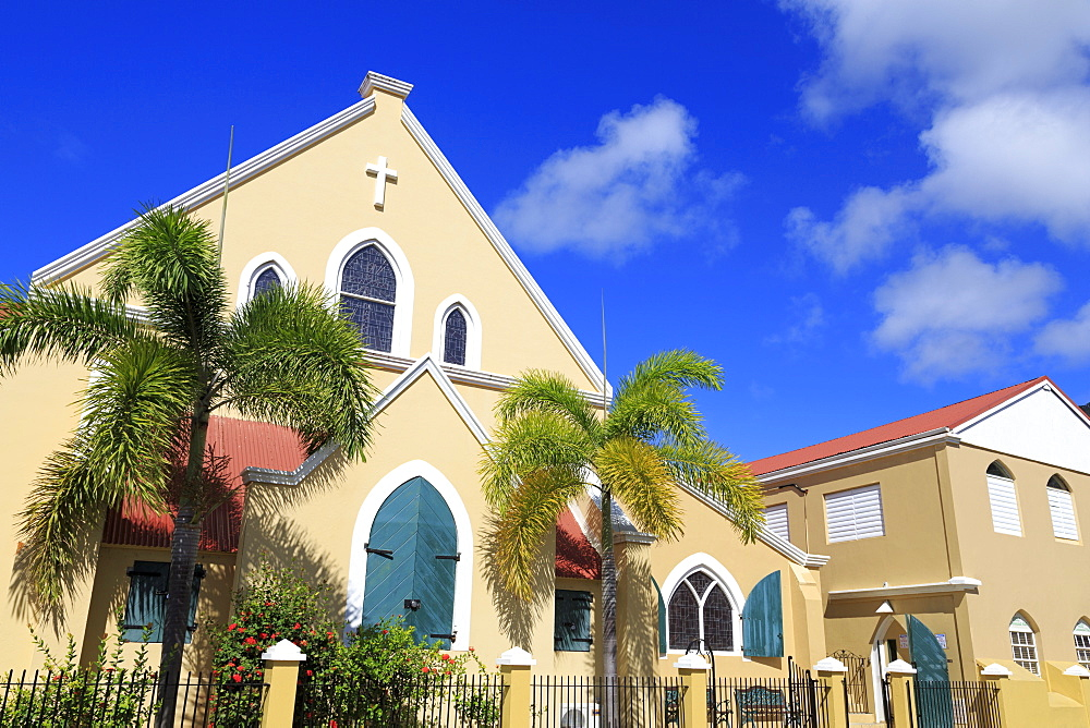 Christchurch Methodist Church, Charlotte Amalie, St. Thomas, United States Virgin Islands, West Indies, Caribbean, Central America