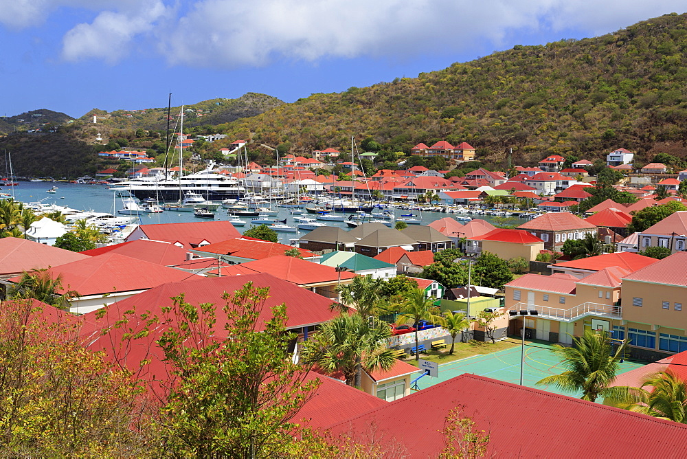 Gustavia, St. Barthelemy (St. Barts), Leeward Islands, West Indies, Caribbean, Central America