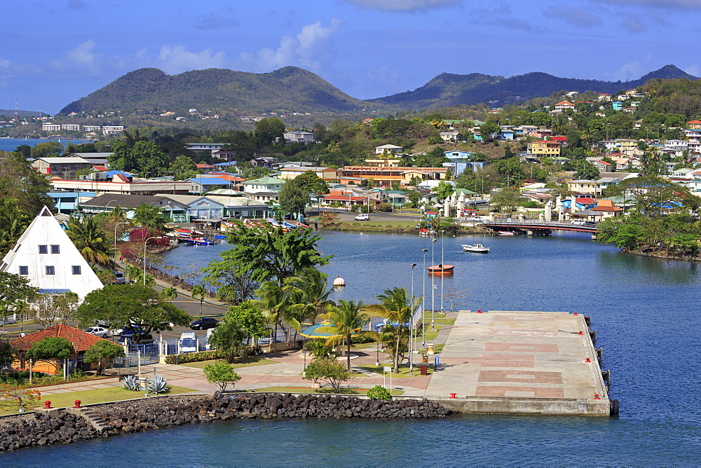 Castries Harbor, St. Lucia, Windward Islands, West Indies, Caribbean, Central America