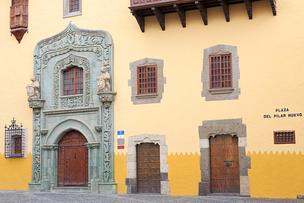 Casa de Colon Museum in the Vegueta District, Las Palmas City, Gran Canaria Island, Canary Islands, Spain, Europe