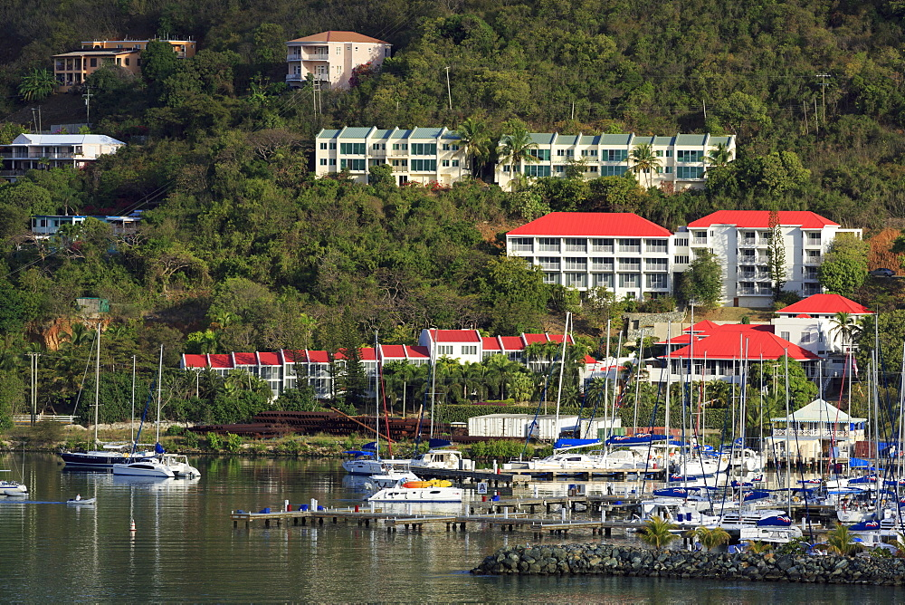 Wickhams Marina in Road Town, Tortola, British Virgin Islands, West Indies, Caribbean, Central America