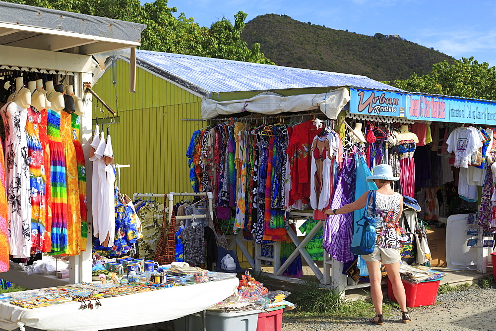 Craft store in Road Town, Tortola, British Virgin Islands, West Indies, Caribbean, Central America - 776-4155