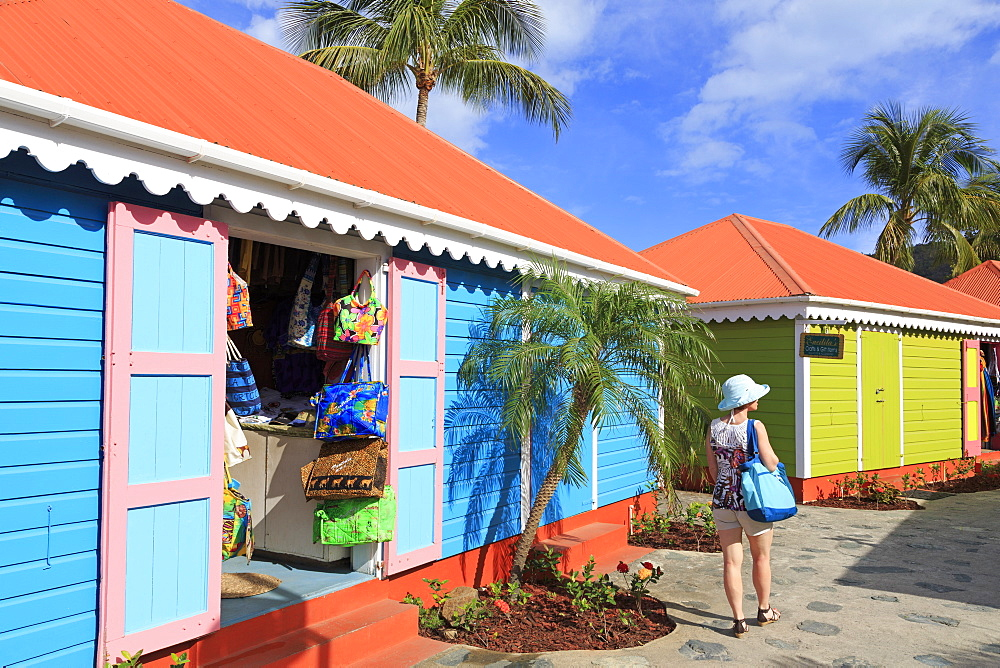 Crafts Alive Market, Road Town, Tortola, British Virgin Islands, West Indies, Caribbean, Central America