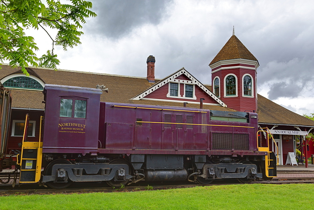 Northern Pacific Railway Museum, Snoqualmie, Seattle, Washington State, United States of America, North America