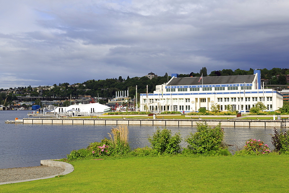 Museum of History and Industry, Lake Union Park, Seattle, Washington State, United States of America, North America