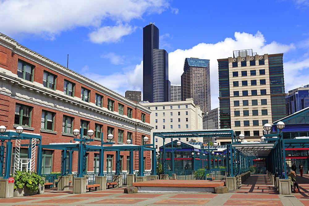 International District Metro Station, Seattle, Washington State, United States of America, North America