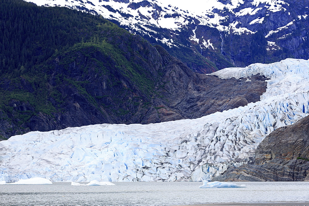 Mendenhall Glacier, Juneau, Alaska, United States of America, North America