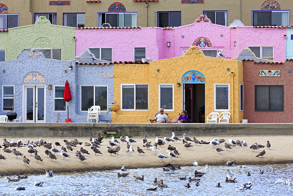 Venetian Village, Capitola, Santa Cruz County, California, United States of America, North America