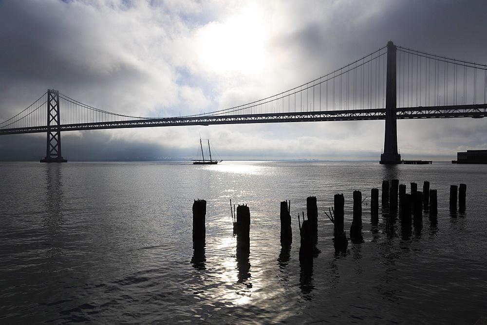 Bay Bridge, San Francisco, California, United States of America, North America