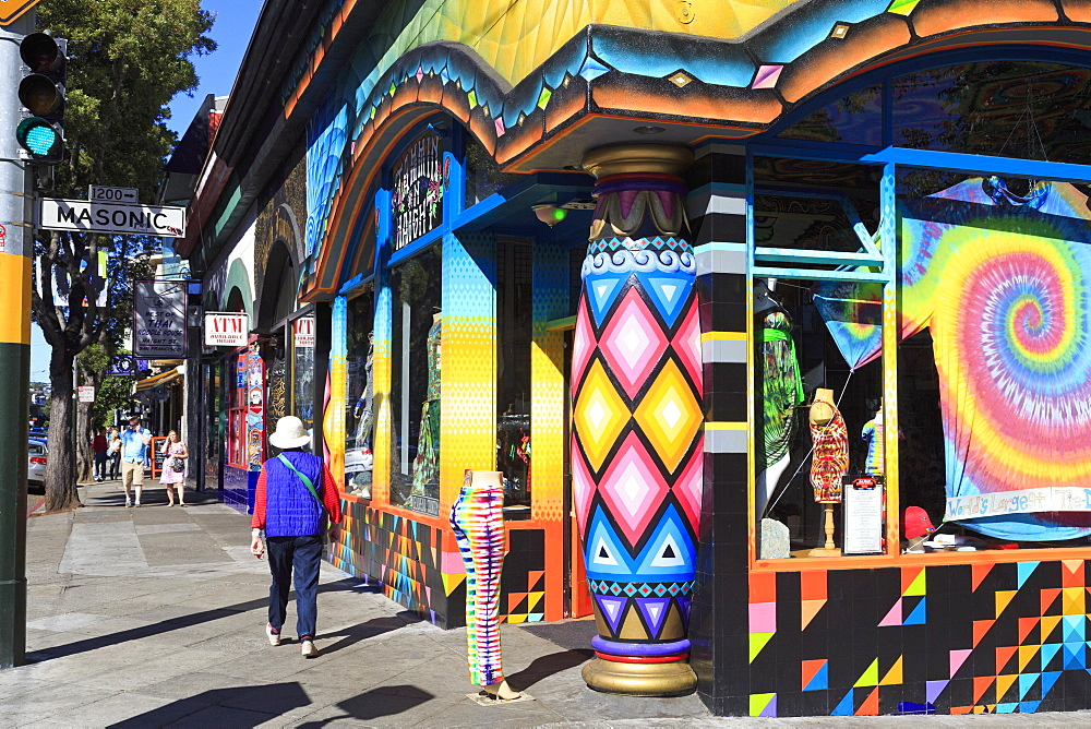 Store in Haight-Ashbury District, San Francisco, California, United States of America, North America