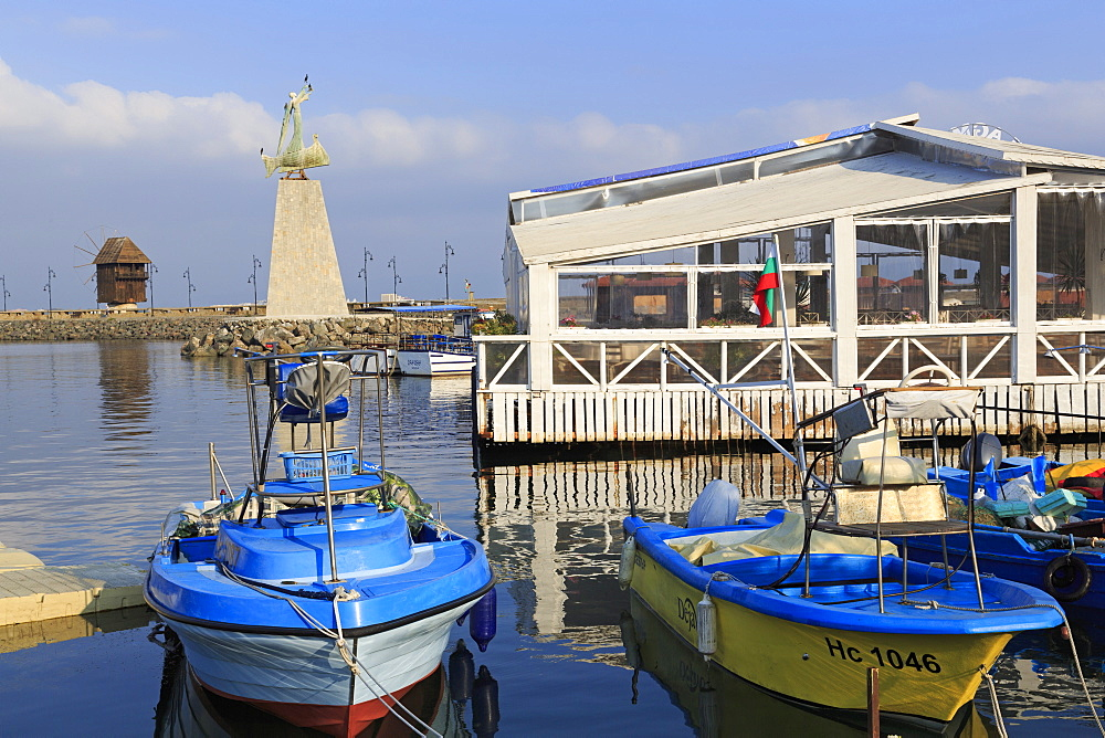 Port in Old Town, Nessebar, Bulgaria, Europe