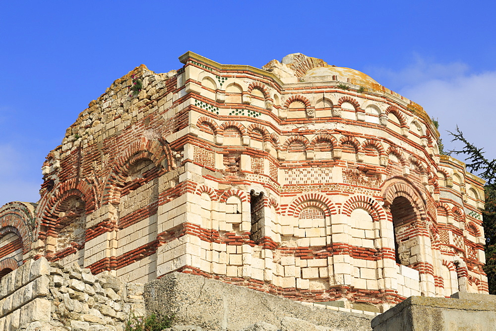 St. John Aliturghetos Church, Old Town, UNESCO World Heritage Site, Nessebar, Bulgaria, Europe