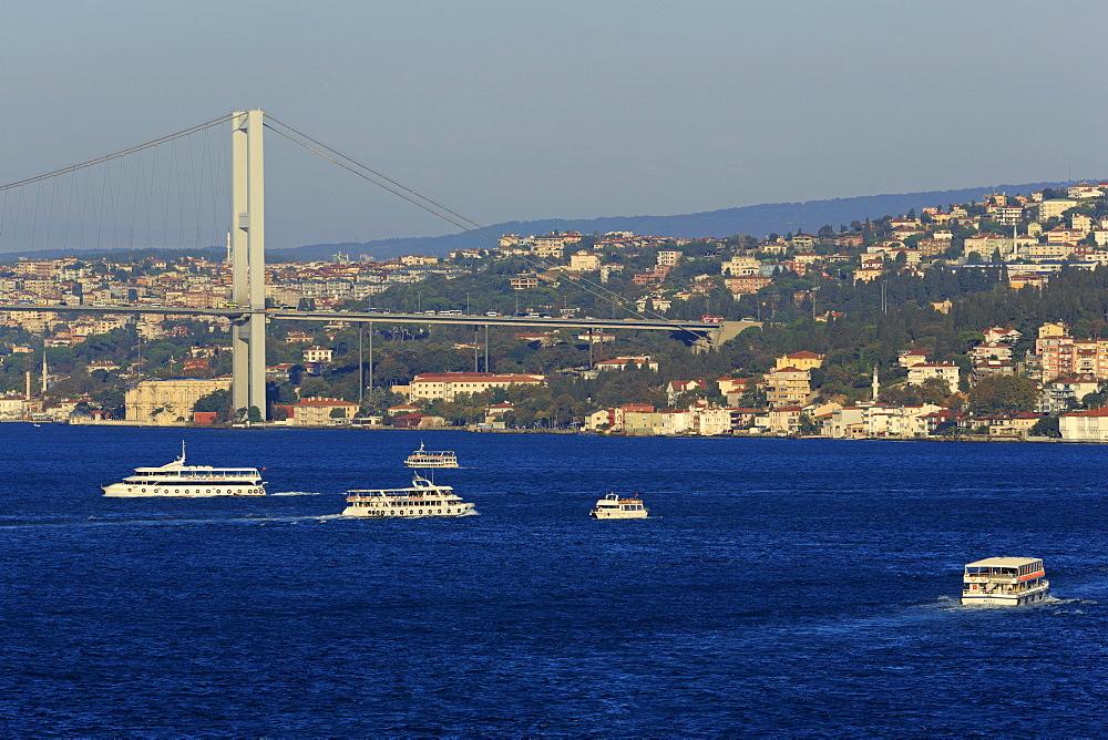Faith Sultan Mehmet Bridge, Istanbul, Turkey, Europe