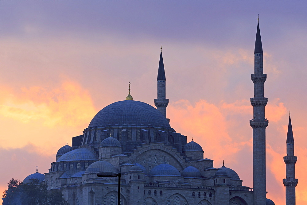Suleymaniye Mosque, UNESCO World Heritage Site, Eminonu and Bazaar District, Istanbul, Turkey, Europe