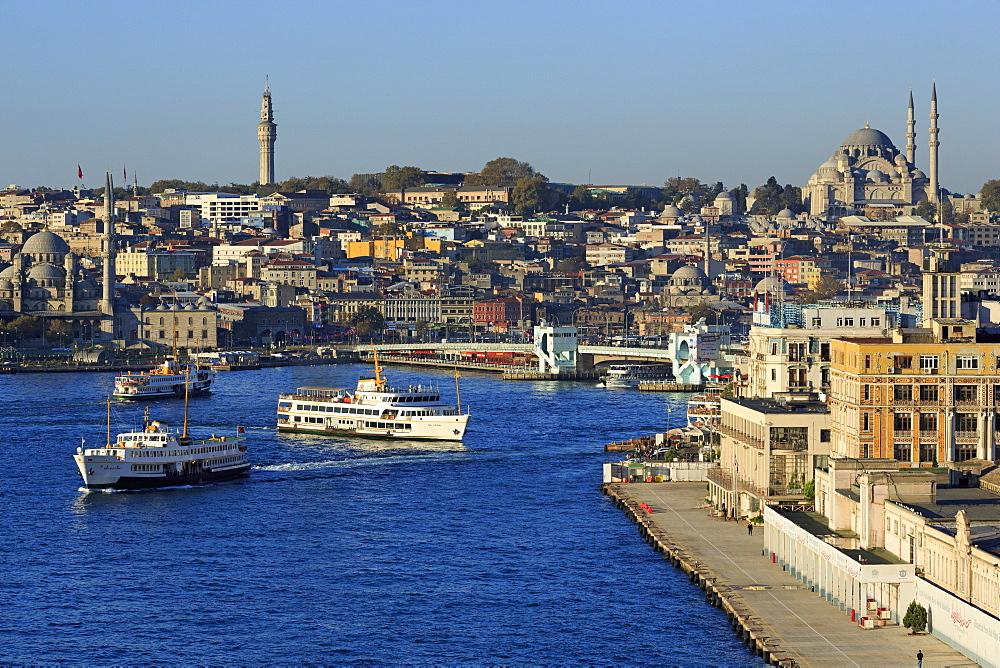 Golden Horn, Istanbul, Turkey, Europe