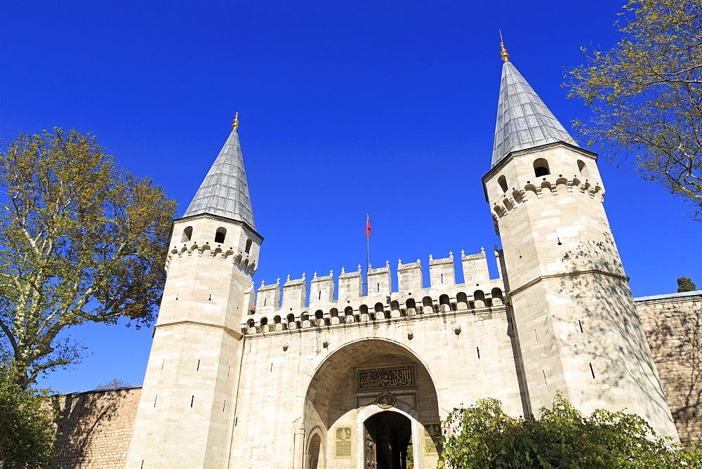 Topkapi Palace, UNESCO World Heritage Site, Sultanahmet District, Istanbul, Turkey, Europe