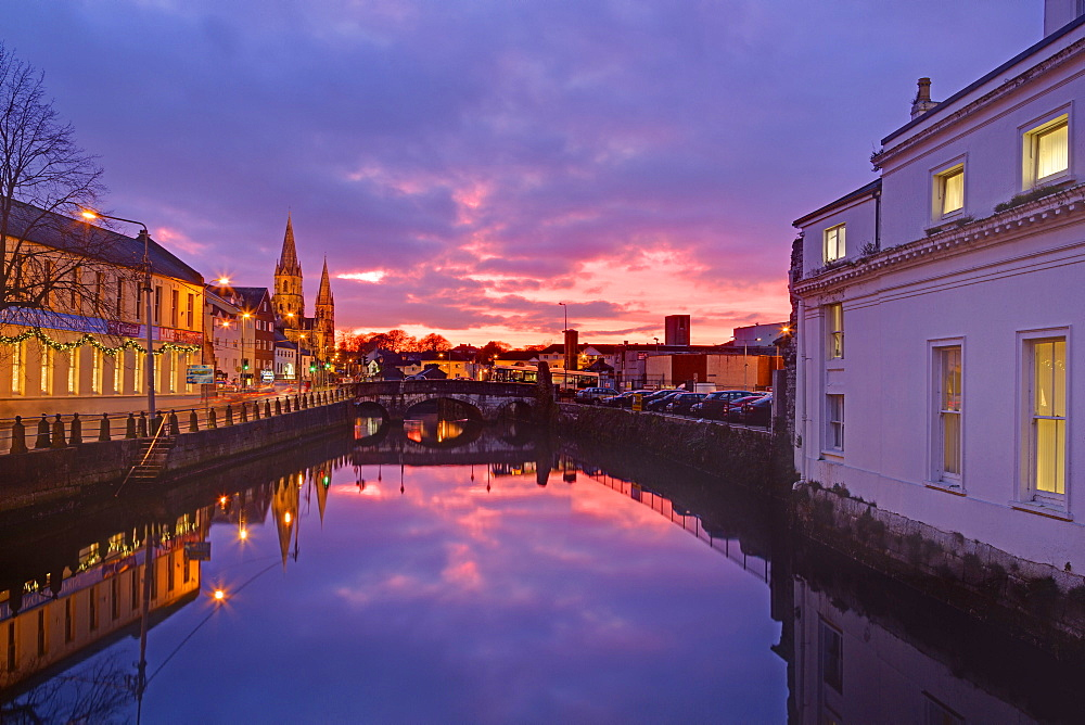 St. Finbarre's Cathedral, Cork City, County Cork, Munster, Republic of Ireland, Europe