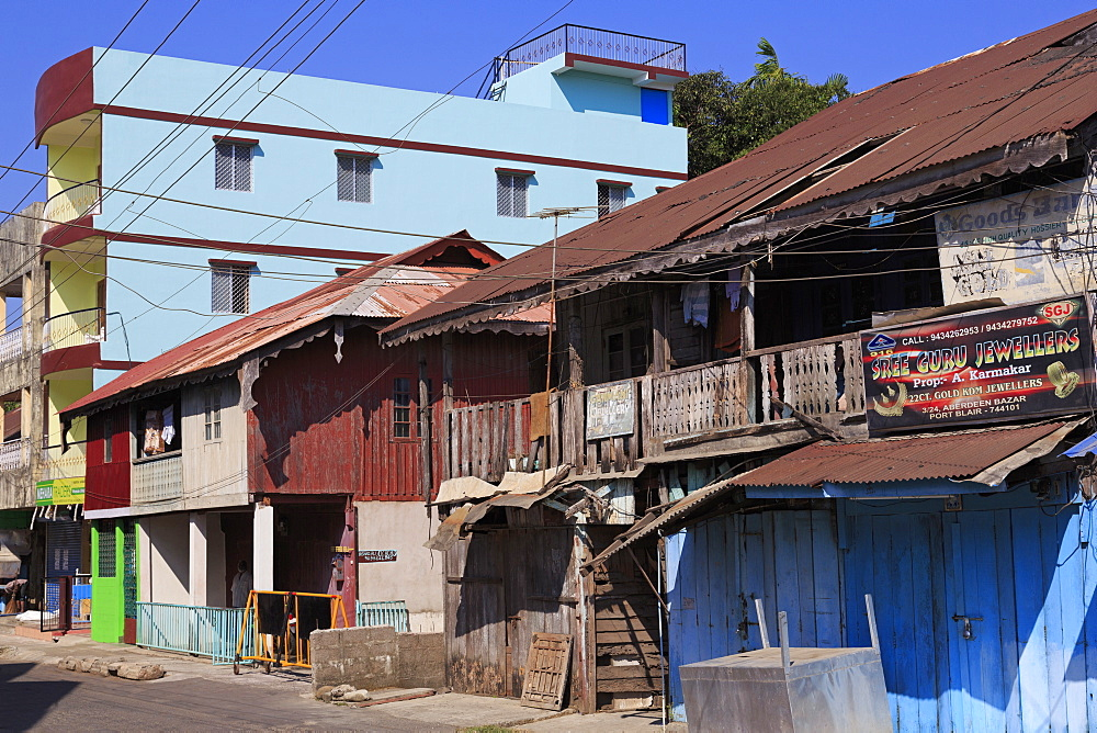 Houses in Port Blair,Andaman Islands,India,Asia