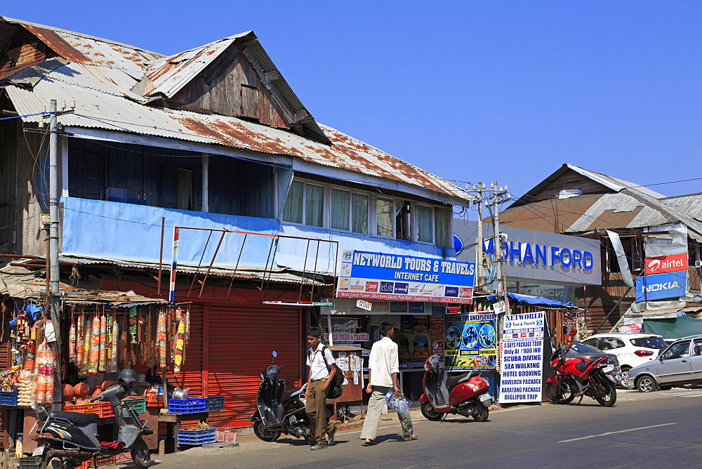 Aberdeen Bazaar, Port Blair, Andaman Islands, India, Asia
