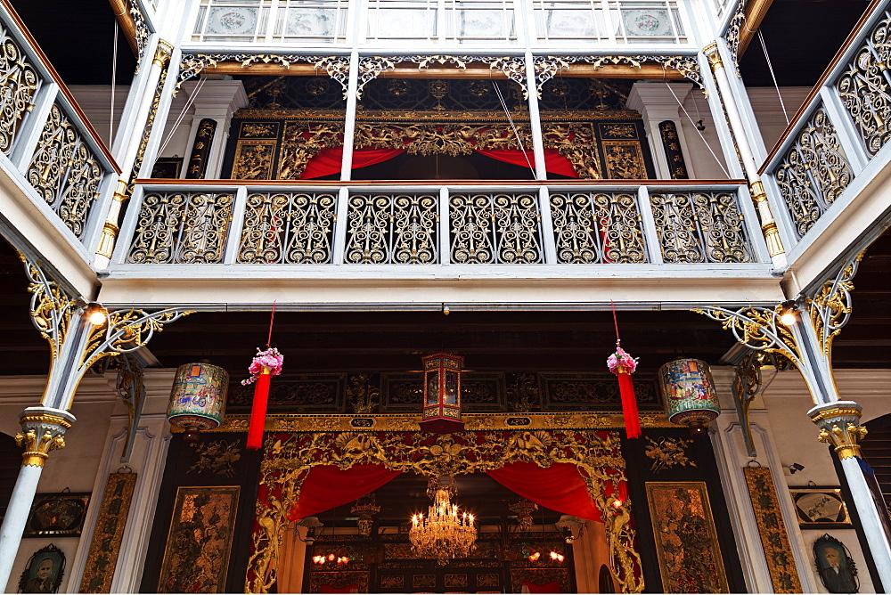 Pinang Peranakan Mansion, Georgetown, Penang Island, Malaysia, Southeast Asia, Asia
