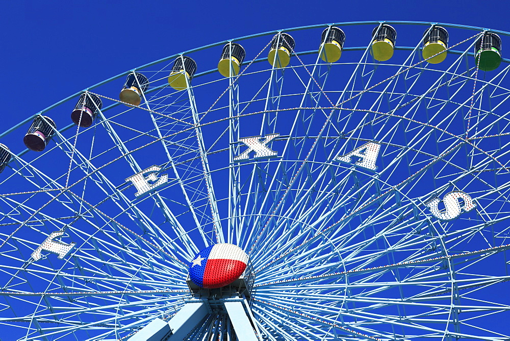Ferris Wheel, Fair Park, Dallas, Texas, United States of America, North America - 776-4709