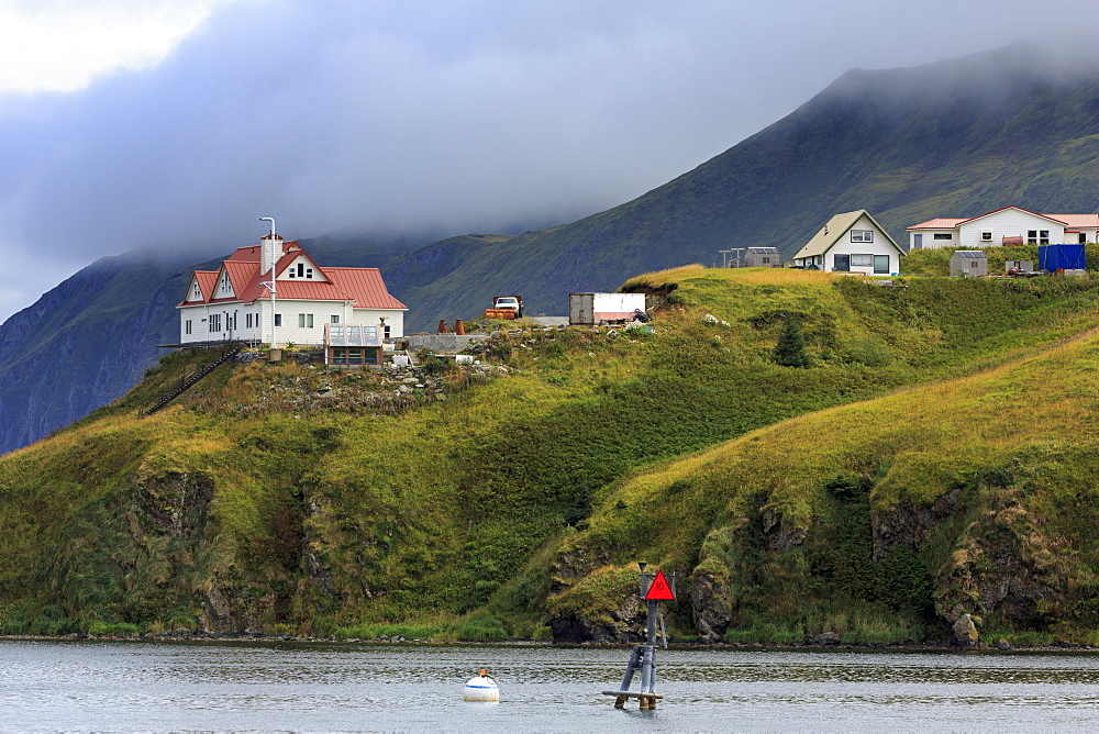 Haystack Hill, Unalaska Island, Aleutian Islands, Alaska, United States of America, North America