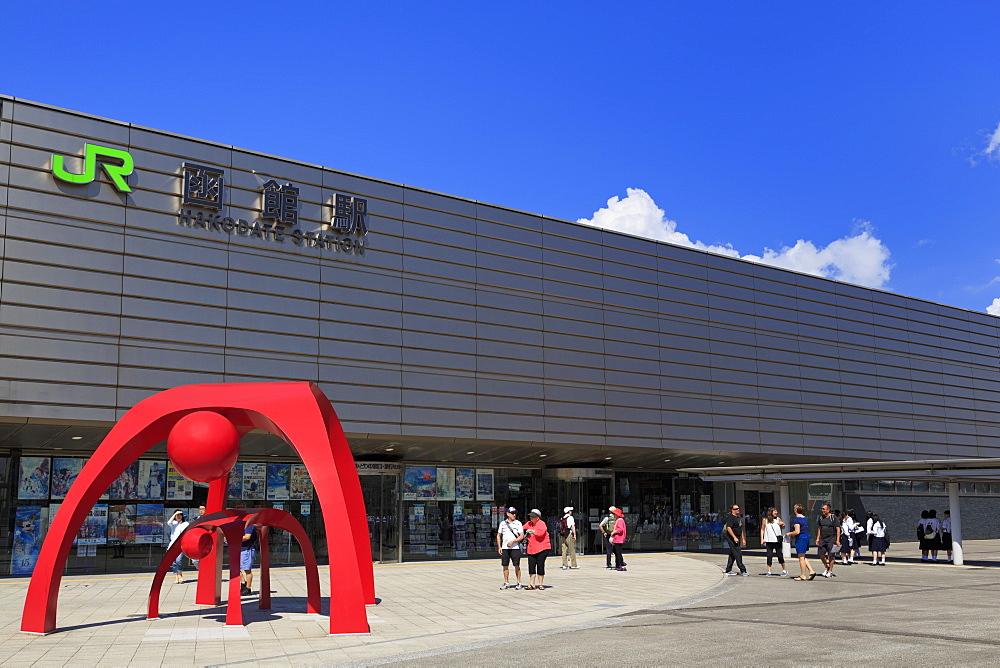 JR Station, Hakodate City, Hokkaido Prefecture, Japan, Asia