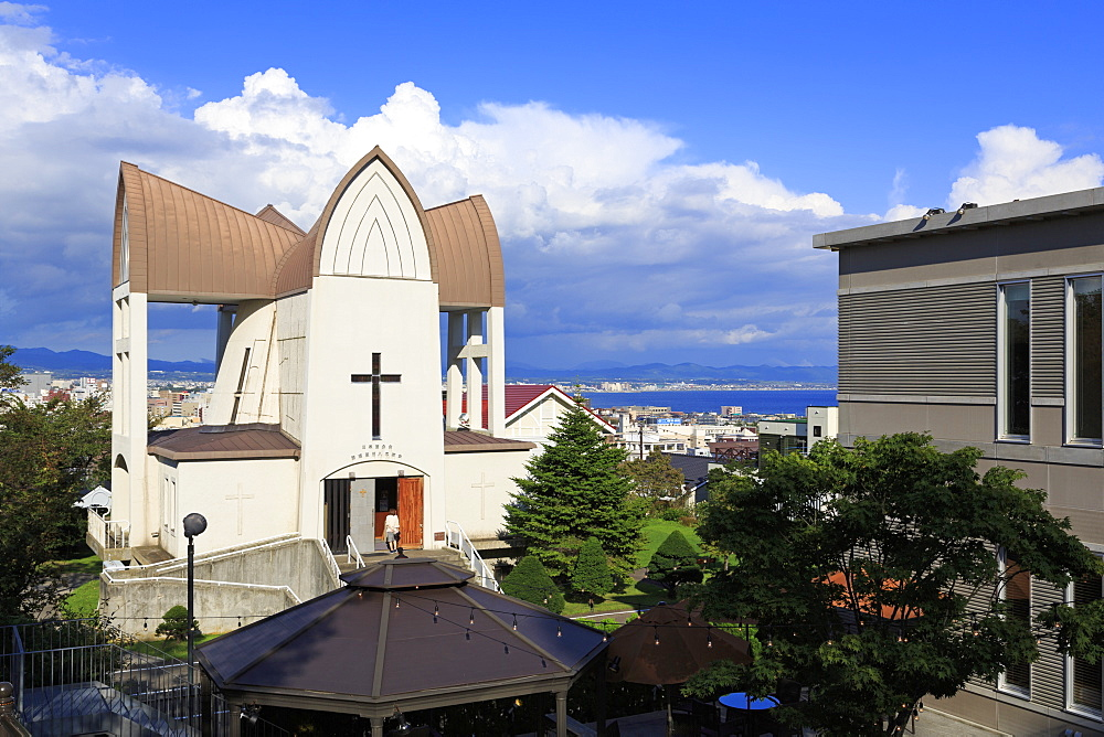 Episcopal Church, Hakodate City, Hokkaido Prefecture, Japan, Asia