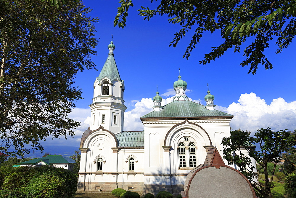 Russian Orthodox Church, Hakodate City, Hokkaido Prefecture, Japan, Asia