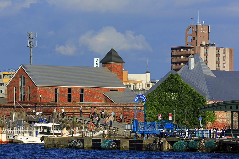 Red Brick Warehouse District, Hakodate City, Hokkaido Prefecture, Japan, Asia