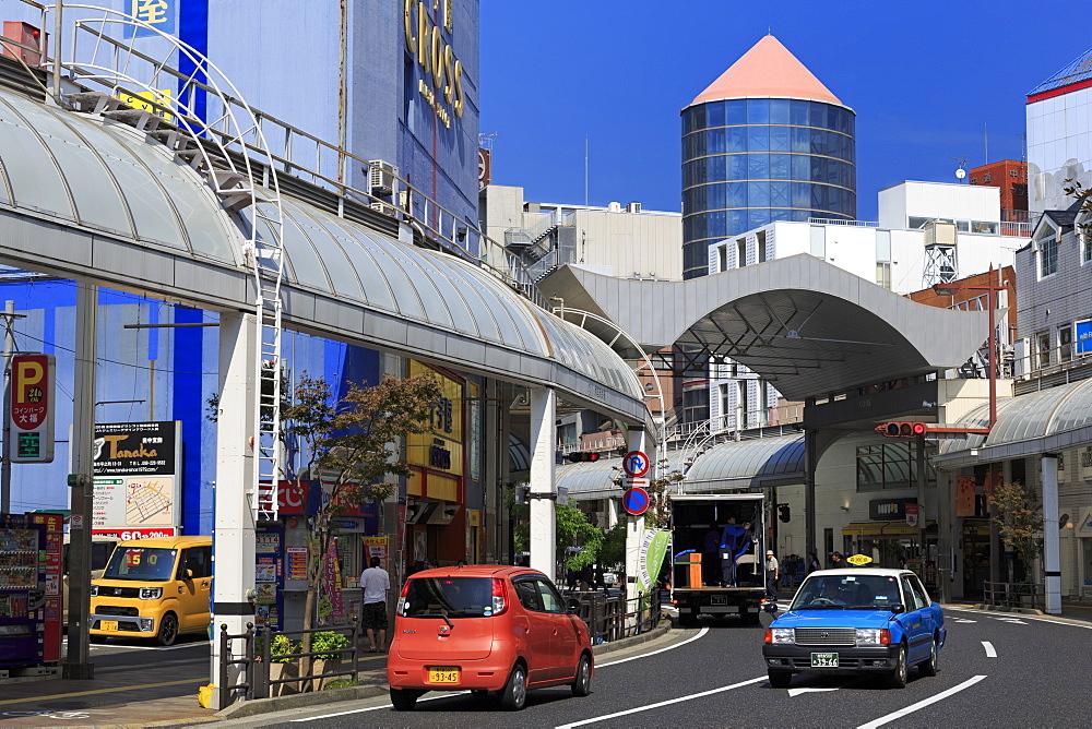 Terukuni Street, Kagoshima City, Kyushu Island, Japan, Asia